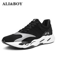 2017 New Arrival Cushioning Women Sneakers Running Shoes For Men Popular Style Sport Shoes Lace Up