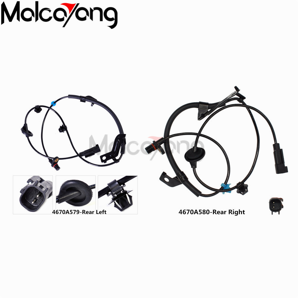 Front Right ABS Wheel Speed Sensor for Mitsubishi Outlander 2WD Lancer ASX 07-12