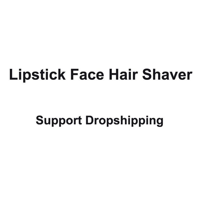 Elektrische Lippenstift haar remover tragbare Lippenstift Epilierer für frauen schönheit Unterstützung dropshipping
