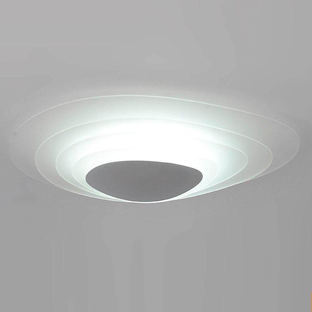 comprar moda lmpara de techo led aleacin y acrlico capa de hielo luz de techo oficina dormitorio lighting diseo moderno llev las
