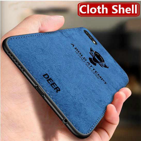 Mewah Kain untuk Huawei Y9 Y7Pro P Smart 2019 Mate20 P20 P30 Pro Lite Nova 3 3i 4 Cover kehormatan 8X 8C 9 10 Lite View20 Case