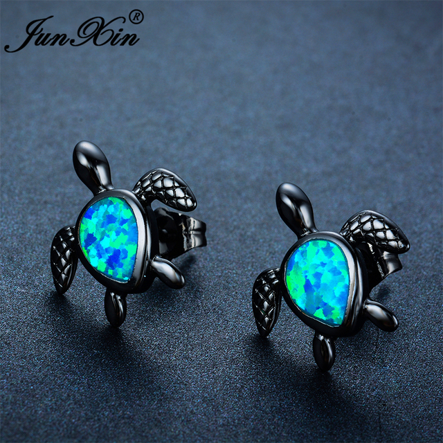 jewelry fire stud magick product earrings white opal