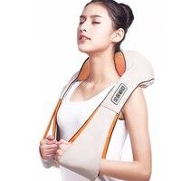 Massage cape electric massager Shawl Shiatsu Cervical Infrared heating body Massager for back neck massage tools for back
