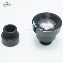 Hqcam высокое Количество безопасности 1/3 широкий диапазон объектива 35 мм 11 градусов объектив для видеонаблюдения Камера