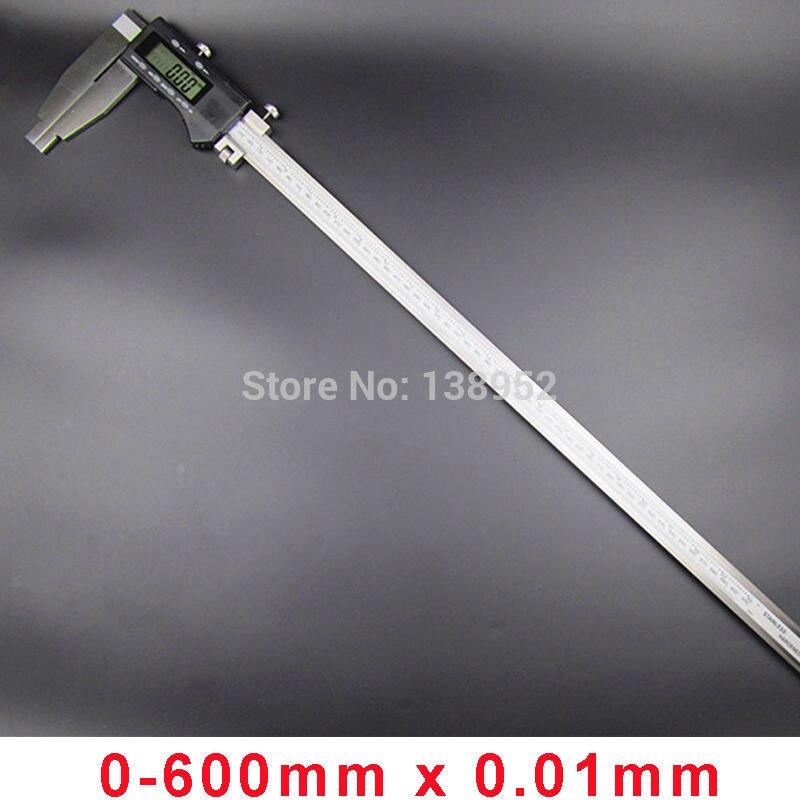 High quality 600MM 24inch Digital vernier Caliper Heavy duty digital caliper gauge 0 600mm with nib