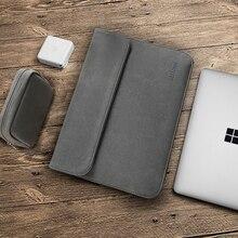 Bestchoi pochette dordinateur pour Microsoft Surface Pro 6 3/4 5 étui pour ordinateur portable étanche pochette pour ordinateur portable pour hommes 12 pouces pour surface book 2