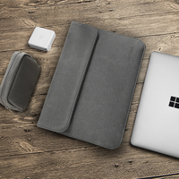 Torba Na Laptop Marki Bestchoi dla Microsoft Surface Pro 3/4 Laptop Case Wodoodporna Torba na Laptopa dla mężczyzn Przenośne 12 cal Notebook
