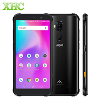 AGM X3 Rugged Phone 8GB+256GB Smartphone IP68 Waterproof Fingerprint 5.99'' Android 8.1 Octa Core Wireless Charging Smartphone