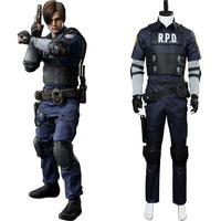 Video Game Cosplay Leon Scott Kennedy Costume Suit Jacket Clothes Halloween Carnival Cosplay Costumes