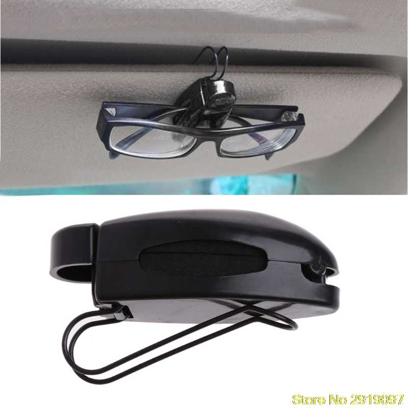313edc967d2 Detail Feedback Questions about New Arrive Car Auto Sun Visor Clip Holder  For Reading Glasses Sunglasses Eyeglass Card Drop Shipping Support on ...