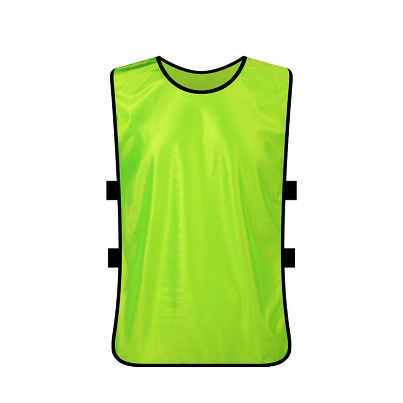 SPORTSHUB 5PCS / LOT Ультра жеңіл жаттығу Футбол Джерси Футбол Тренинг Vest Jersey Soccer Customize Number / Name / Logo SAA0018