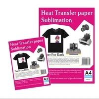 Papier formatu a4 ciemny przenikania ciepła sublimacji na atrament barwnikowy