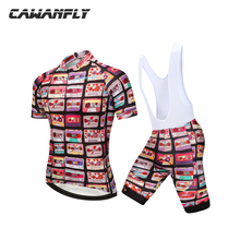 Canwanfly 2018 Cycling Jersey Breathable MTB Bicycle Clothing Mans Bike Clothes Maillot Roupa Ropa De Ciclismo Hombre Verano