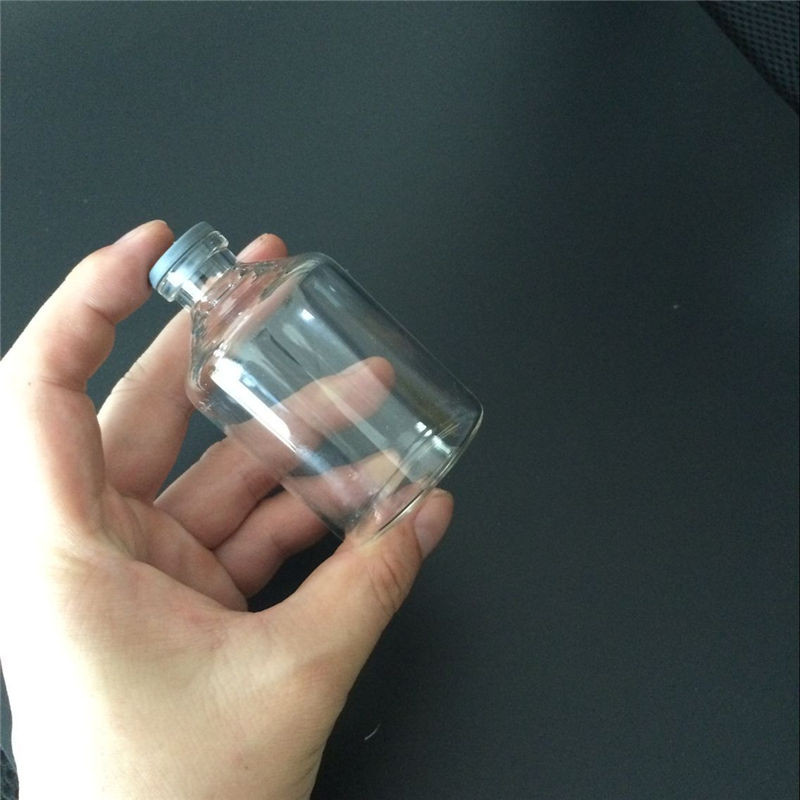 80ml Leakproof Glass Bottles with Rubber Cap Eco-Friendly Jars Vials Silicone Bottles