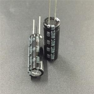 Image 2 - 10pcs 3300uF 10V KOSHIN KRM Series 10X30 มม.10V3300uF อลูมิเนียม Electrolytic Capacitor