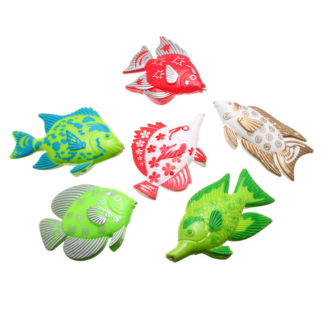 Magnetic Fishing Toy With 6 fish And a Fishing Rods Outdoor Fun & Sports Fish Toy Gift for Baby/Kids