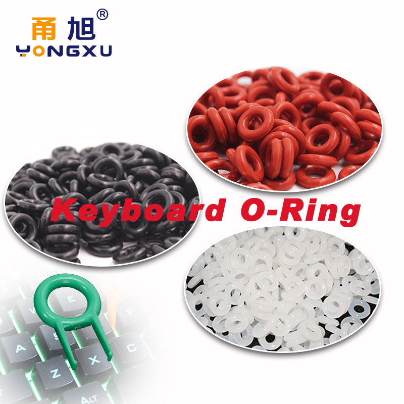 New Fashion The New 109pcs Green Keycaps Rubber O-ring Switch Dampeners Dark Red For Cherry Mx Keyboard Dampers Key Cap O Ring Replace Part Mouse & Keyboards Keyboards