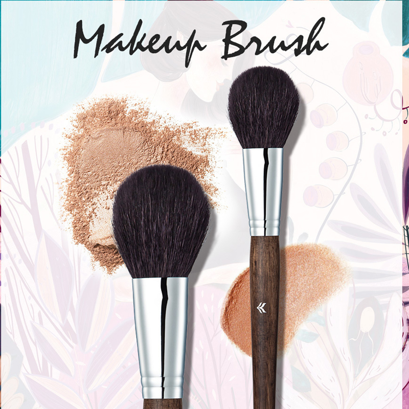 Blush Brush / Contour Brush- Our Best Makeup Brush for Applying Blush and Contouring Creams & Powder