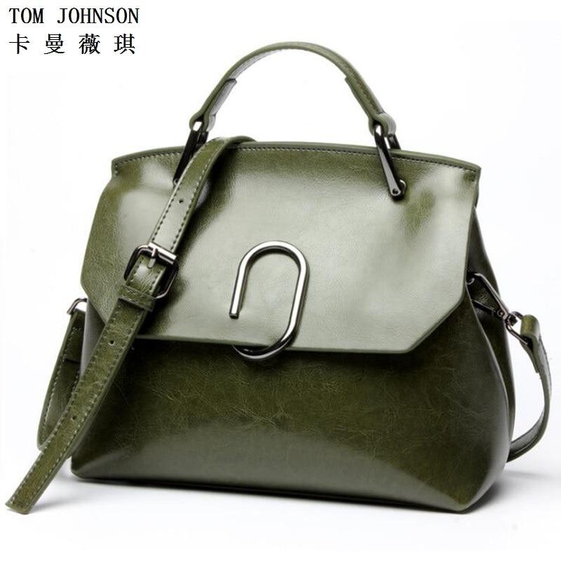 ФОТО Women's Genuine Leather Handbags Fashion Soft Leather Upscale Luxury Shoulder Bag Shell Women Messenger Bag V3G97