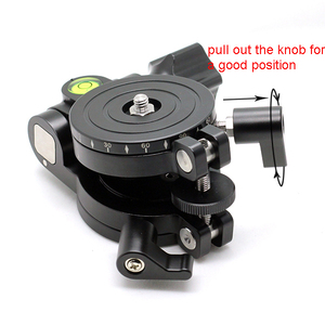 Image 5 - FITTEST JZ Leveler Base Measurement High Precision Level Regulator for Camera Horizontal 1/4 Screw Mount Panoramic Tripod Head
