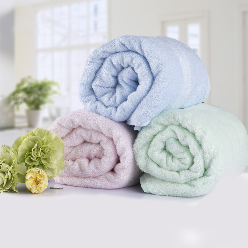 Baby bath towel bamboo fiber baby newborn natural without stimulation bath towel baby bag covered blanket