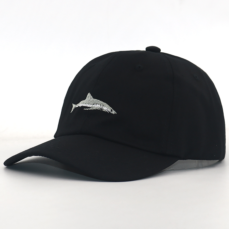 great quality nice shoes best authentic US $4.43 26% OFF 2018 new dad hat adjustable cotton shark embroidery  baseball cap women curved hats men sports caps fashion cap hat brand  caps-in ...
