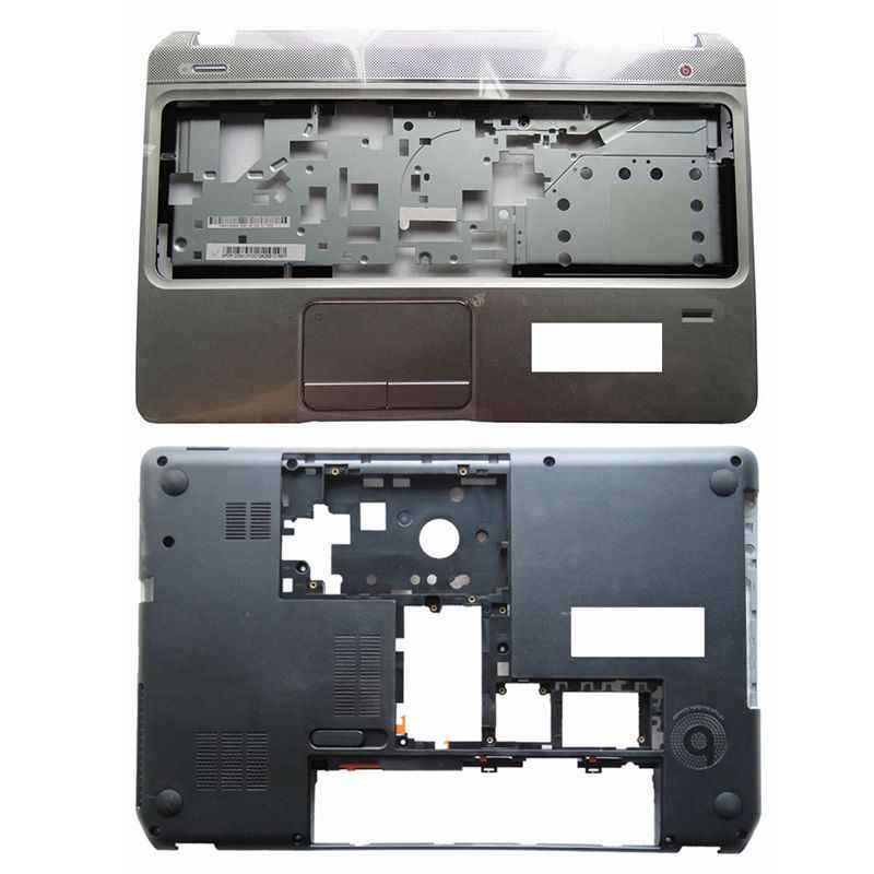 Nieuwe Bottom Base Case Cover & Palmrest Bovenste Case Cover Voor Hp Envy Pavilion M6 M6-1000 707886-001 AP0U9000100