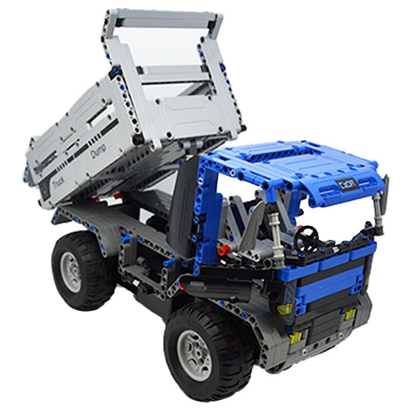 Cada C51017 RC Remote Control Dump Truck