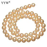 YYW 2018 New Fashion Cultured Potato Freshwater Pearl Beads Lucky jewelry natural purple 7 8mm Wholesale