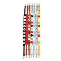 Fashion Women's Flower Design Wide Shoulder Strap Crossbody PU Leather Wild Bag Accessories Strap Shoulder Strap