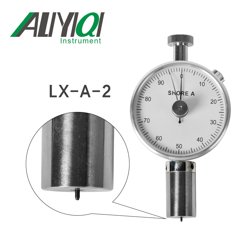 LX-A-2 High Precision Shore Hardness Tester general synthetic vulcanized soft rubber leather wax цена