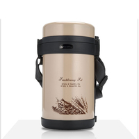 800ml food thermos portable belt thermo for soup Japanese style termo mug good for taking lunch