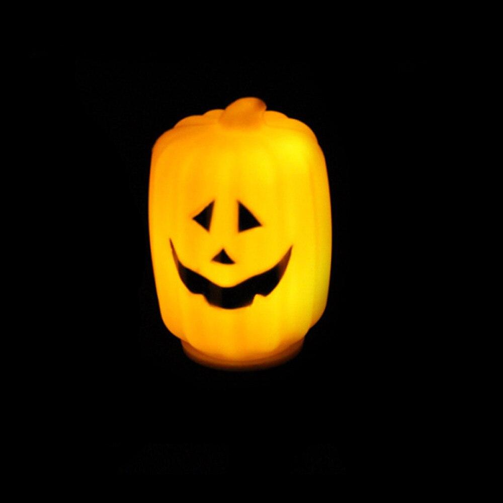 Vintage halloween decorations plastic - 2016 Surprise Price Halloween Decoration Halloween Bar Party Vintage Lantern Decoration Props Led Pumpkin Light Free Shipping