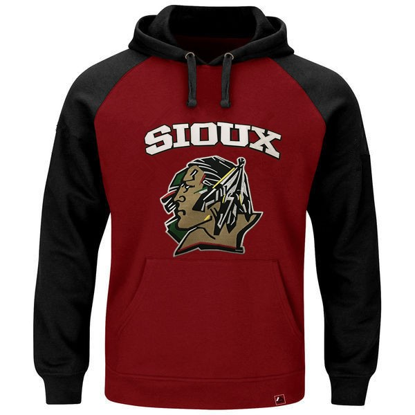 North Dakota Fighting Sioux Hoodie Custom Any Name Any Number Stitched Men Ice Hockey Jersey Hoodie Sweatshirt S-4XL VIVA VILLA