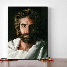 Cristo jesus poster príncipe da paz pintura em tela deus impressão a óleo cartaz da arte parede hd imagem para sala de estar decoração casa