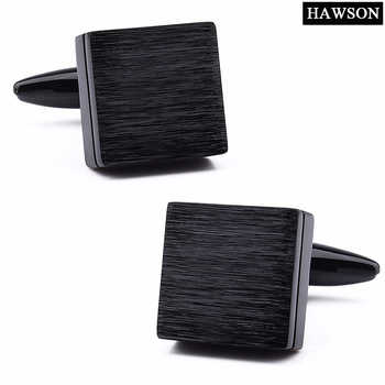 Fashion IP Black Cufflinks Gun Metal Men French Cufflinks Shirt Business Meeting Jewelry Cufflinks for Mens - DISCOUNT ITEM  14% OFF All Category