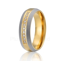 love cz stone ring titanium jewelry for women gold color engagement weding band europe quality anillos