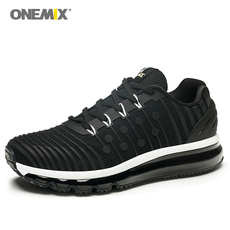 the best attitude 52cbe e443a New Onemix Air Cushion Running shoes for Men s 97 KnItting Gym Sports Shoes  Jogging Sneakers Outdoor Fitness Sneakers Max 12.5