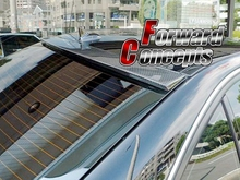 CARBON FIBER MERCEDES BENZ 2007-2012 W204 C-CLASS REAR WING WINDOW ROOF SPOILER