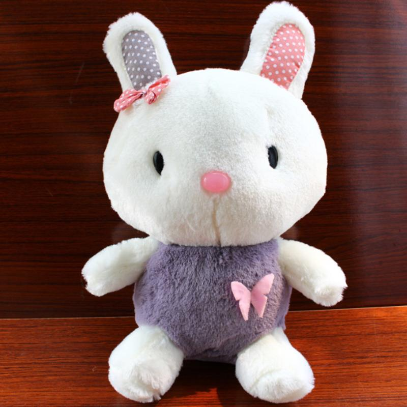 60s Recording Practical Rabbit Plush Toy Speak Talking Sound Record Stuffed Toy Learn To Talk Kids Educational Toy Friend Gifts