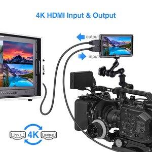 Image 5 - Eyoyo e5 5 인치 4 k hdmi dslr 카메라 필드 모니터 옥외 용 울트라 브라이트 400cd/m2 풀 hd 1920x1080 lcd ips