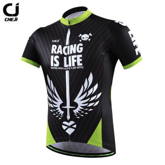 b0025eab5 Cheji 2017 Pro Racing Sport Bike Team Cycling Jersey Top Men Riding Bicycle  Cycling Clothing Ropa