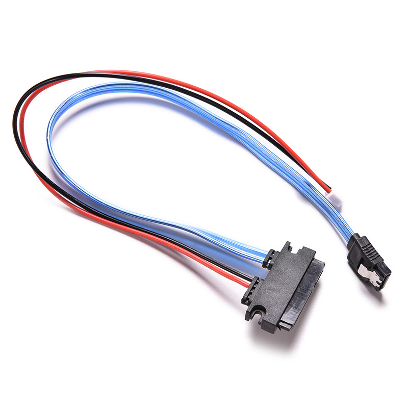 1PC New Banana PI SATA Cable HDD Connectors with Power Supply Port for 2.5inch Hard Drive Disk BPI SATA Cable Drop Shipping new 2u365mm long server computer case pc power supply 2 hard drive firewall