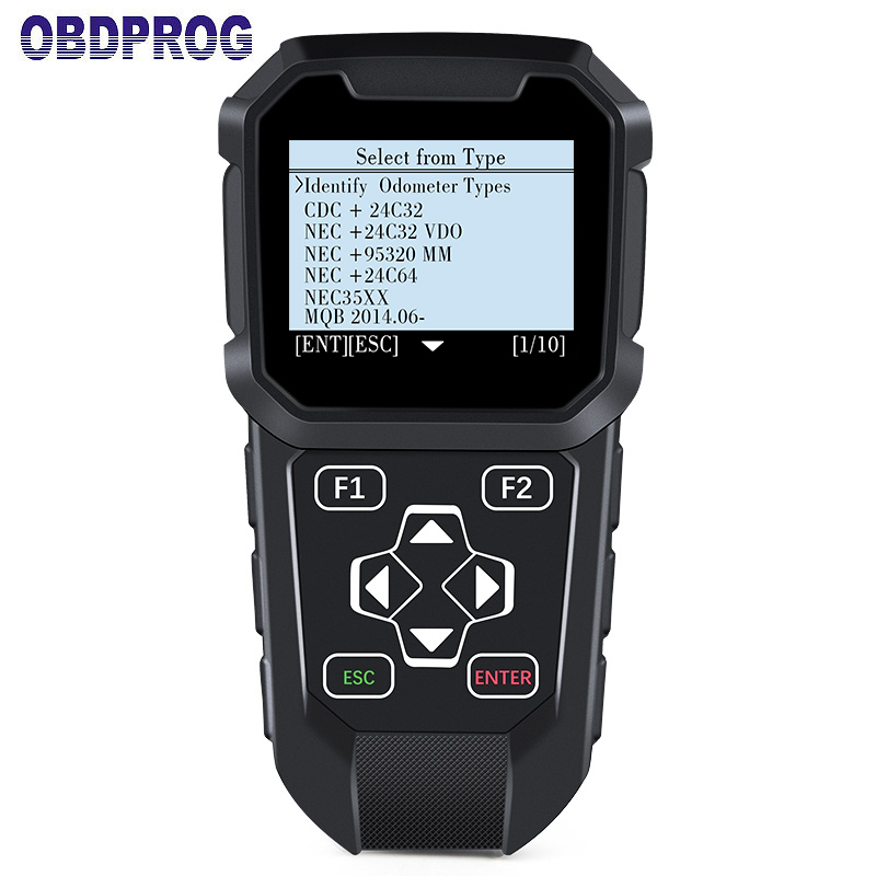 OBDPROG MT401 Multi Car Brand Odometer Adjustment OBD2 Diagnostic Tool Professional Change Mileage Correction Tool Via OBD