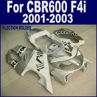 New Hot race fairings kit for Honda repsol 2001 2002 2003 white silver CBR 600 F4i 01 02 03 cbr 600 f4i road fairing bodykit
