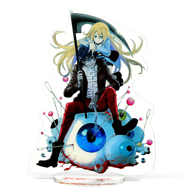 Angels of Death Isaac Foster and Rachel Gardner Acrylic Action Figure