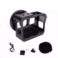 TUOWEI Aluminum Alloy Cage Protective Housing Metal Frame 5 Colors For Gopro Hero 6 5 Sport