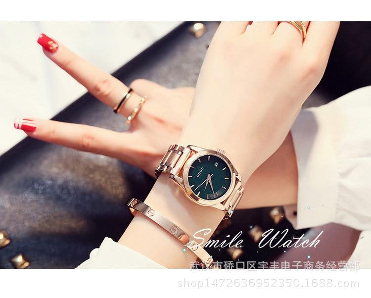 2019 GUOU Relógios das Mulheres Das Senhoras