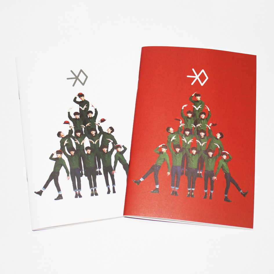 Exo Christmas Album Cover.Exo Christmas Album In December Miracle Simple Fashion Solid