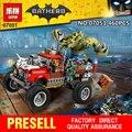 Nuevo 460 Unids Lepin 07051 Cola de Cocodrilo Genuino de la Serie de Películas de Batman El Asesino-Gator 70907 Bloques de Construcción Ladrillos Educativos juguetes